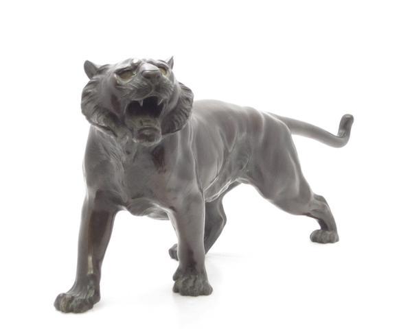 A bronze tiger Meiji