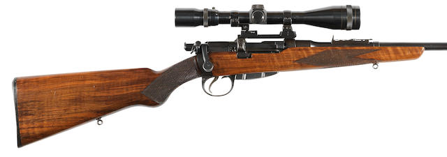 A .303 'Lee-Speed' sporting rifle by B.S.A. Co., no. 18627