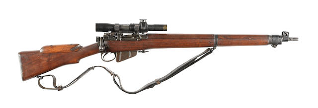 A composite .303 'No.4 Mk.I(T)' sniper rifle by B.S.A., no. A31419