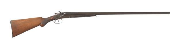 A 12-bore (2¾in) sidelock hammer gun by Midland Gun Co., no. 112650