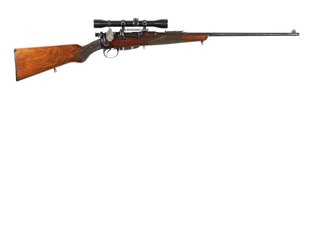 A .303 'Lee-Speed' sporting rifle by B.S.A. Co., no. 18728