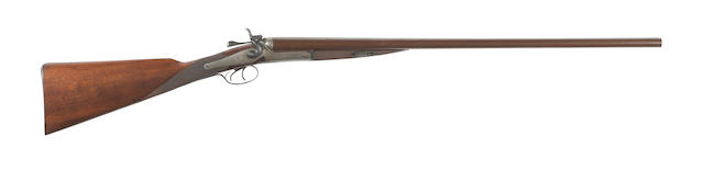 A deactivated 16-bore hammer gun by Holland & Holland Together with its Birmingham deactivation certificate, no. 67202