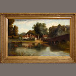W T Clark, 19th Century View of Sonning