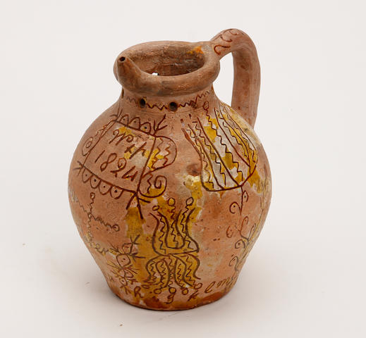 A Donyatt puzzle jug Dated 1824