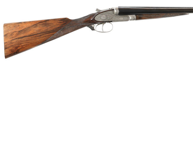 A 12-bore (2¾in) sidelock ejector gun by H. Mahillon, no. 81244