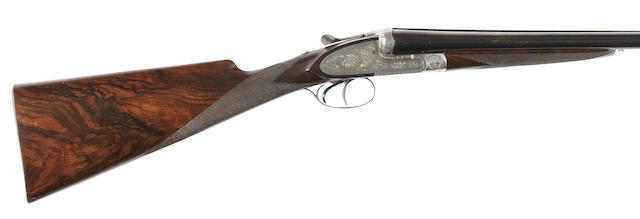 A 12-bore (2¾in) sidelock ejector gun by J. Pire & Cie., no. 7484
