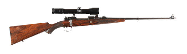 A fine .240 (Apex) take-down Mauser sporting rifle by Holland & Holland, no. 429