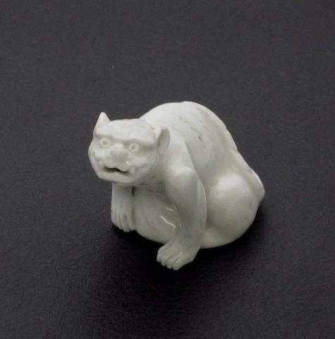 A small porcelain leopard