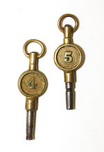 An 18ct three colour gold open face key wind pocket watchcirca 1830s,