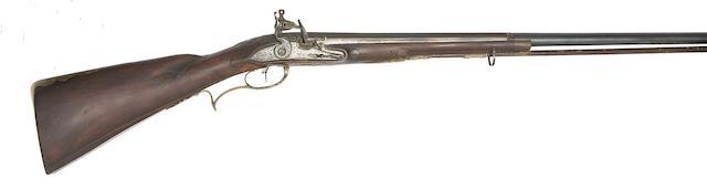 A German 25-Bore Flintlock Sporting Gun