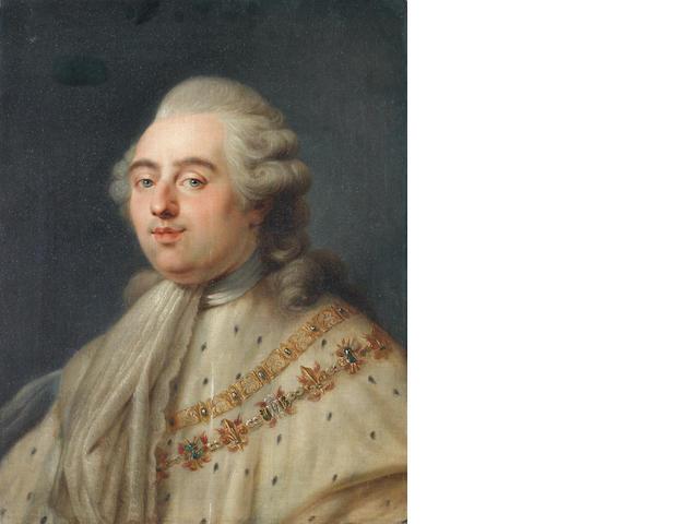 Circle of Antoine-François Callet (Paris 1741-1823) Portrait of King Louis XVI of France