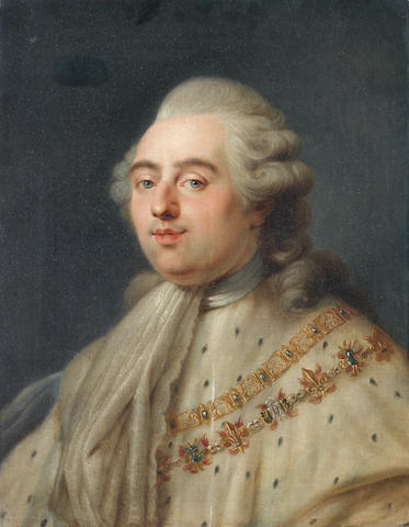 Circle of Antoine-François Callet (Paris 1741-1823) Portrait of King Louis XVI of France