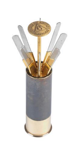 A fine Asprey's patent cartridge place-finder