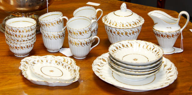 Early 19th Century English porcelain part tea set 22