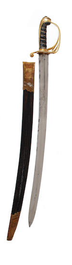 A Rare Queen's Marshalman's Sword