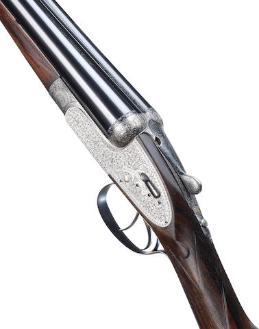 A 12-bore 'Royal Self-Opener' sidelock ejector gun by Holland & Holland, no. 30680 In its leather case
