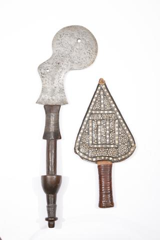 A Sudanese Knife, And A Congo Throwing Knife