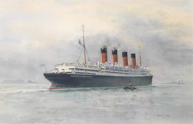 Watson Wood SS Mauretania