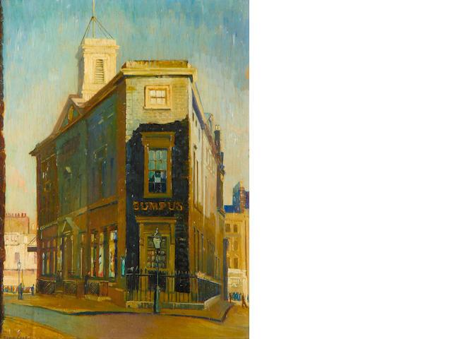 John Vicat Cole (British, 1903-1975) The Old Marylebone Courthouse