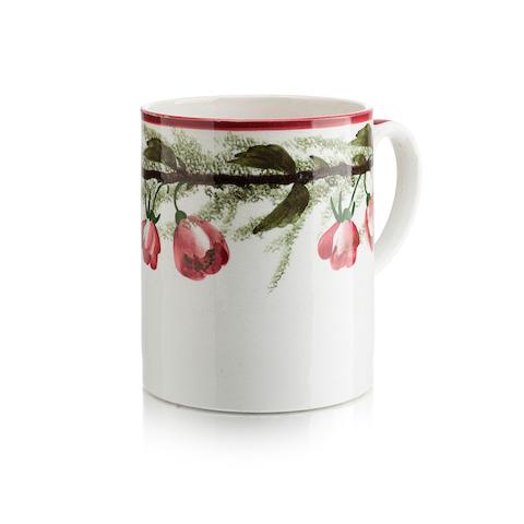 A Wemyss mug 'Cherry Blossom'