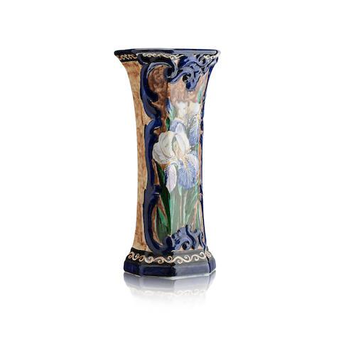 A Wemyss Rosebery 'Irises' vase
