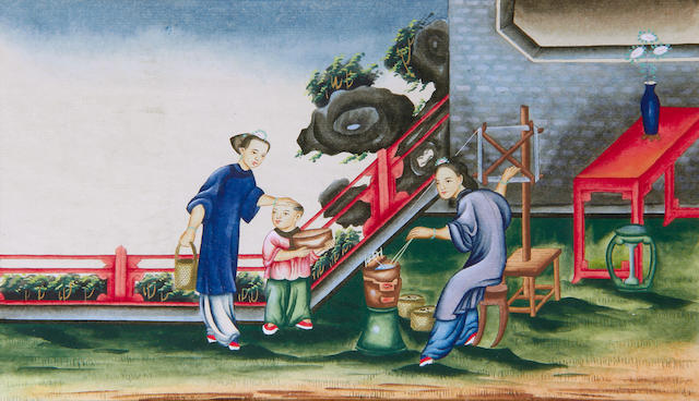 Chinese School Qing Dynasty