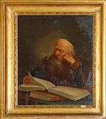 18th Century Dutch school Portrait of a scholar,