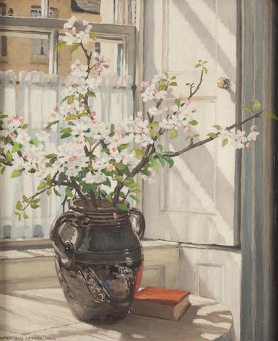 Charles Oppenheimer, RSA RSW (British, 1876-1961) Soleil du matin 61 x 52 cm. (24 x 20 1/2 in.)