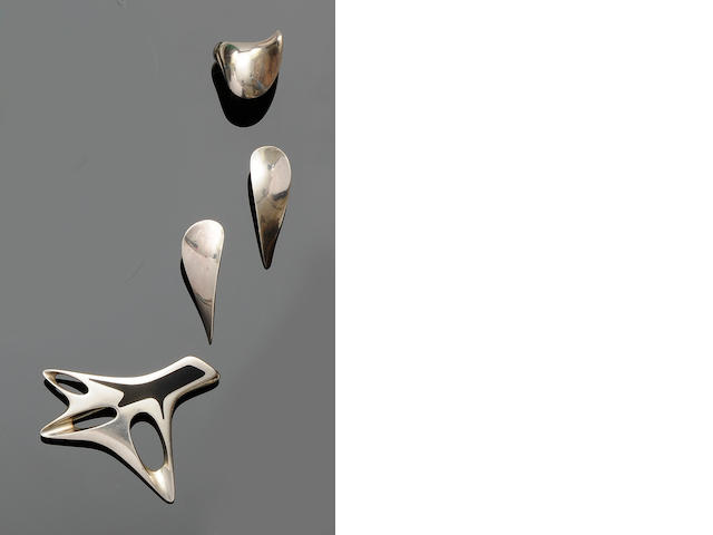 Georg Jensen: An enamel brooch