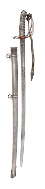 A Rifle Officer's Regimental Sword of the Robin Hood Rifles