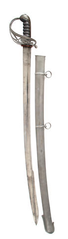An Unusual Rifle Officer's Sword