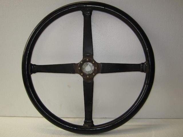 A steering wheel, 1920's,