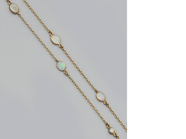 An opal set long chain (2)