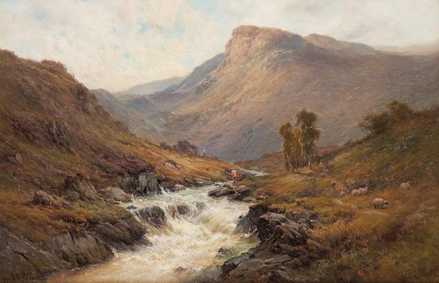 Alfred de Bréanski Snr. (British, 1852-1928) In Glenfinlas