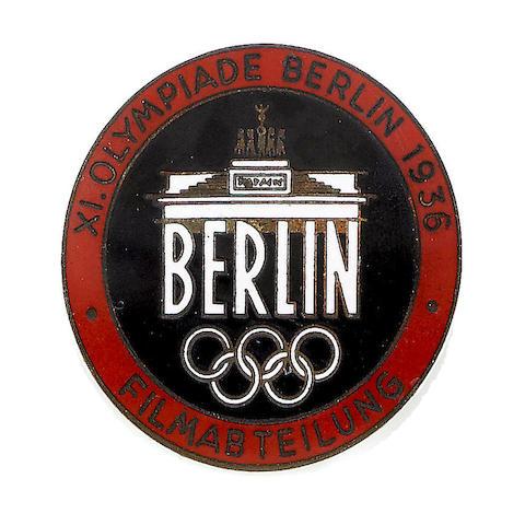 Film Crew Pin Badge