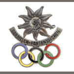 Commemorative Pin Badge - Winter Games