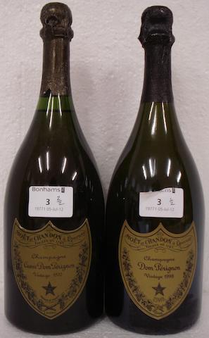 Dom Pérignon 1970 (1)<BR />Dom Pérignon 1998 (1)