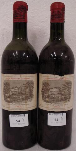 Chateau Lafite Rothschild 1962 (2)