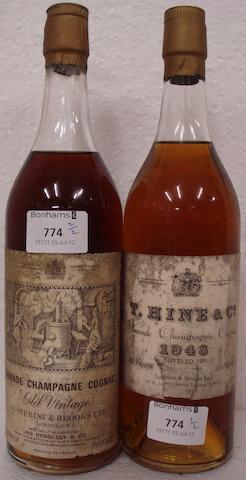 Hine 1948 (1)<BR />Hennessy, Old Vintage (1)