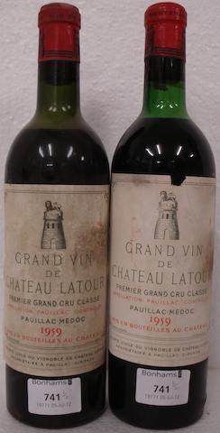 Chateau Latour 1959 (2)