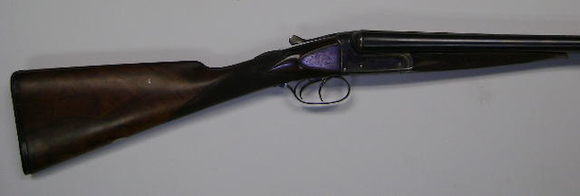 A 12-bore boxlock non-ejector gun by Chas. Osborne & Co.