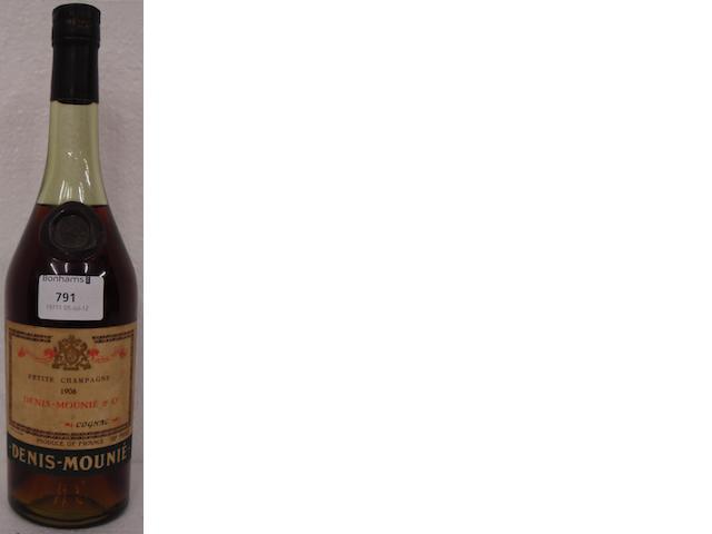 Denis-Mounié Petite Champagne Cognac 1906 (1)