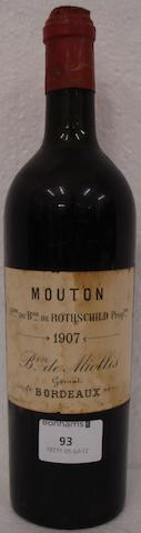 Chateau Mouton Rothschild 1907 (1)