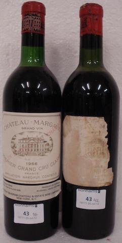 Chateau Margaux 1955 (1)<BR />Chateau Margaux 1966 (1)