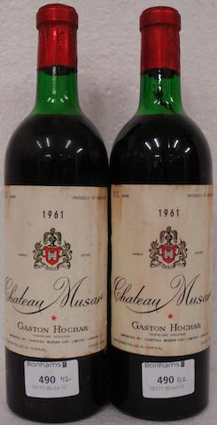Chateau Musar 1961 (2)