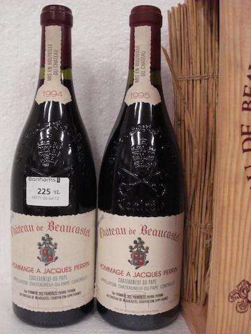 Châteauneuf-du-Pape, Hommage à Jacques Perrin 1994 (1)<BR />Châteauneuf-du-Pape, Hommage à Jacques Perrin 1995 (1)