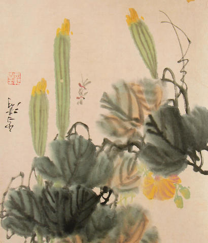 An album of paintings  attributed to Wang Xue Tao