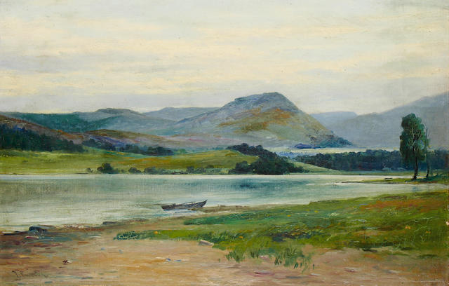Thomas Bunting (British, 1851-1928) On the spey