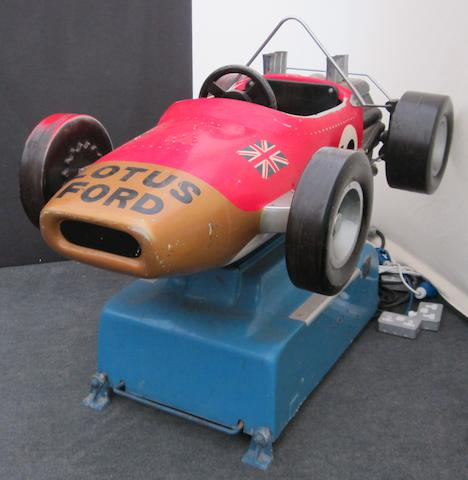 A Lotus Ford 'type 49' ride-on amusement,