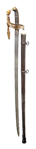 An Unusual 1845 Pattern Infantry Officer's Sword